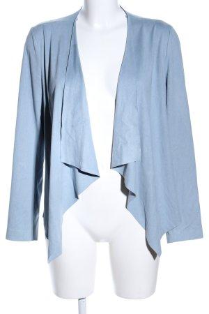 Zara Basic Kurzjacke blau Casual-Look