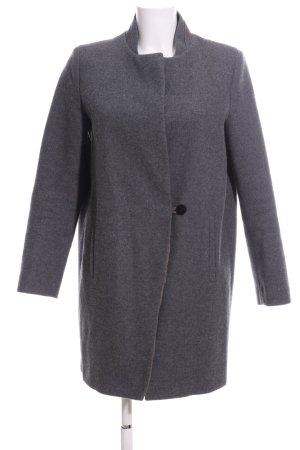 Zara Basic Manteau court gris clair style décontracté