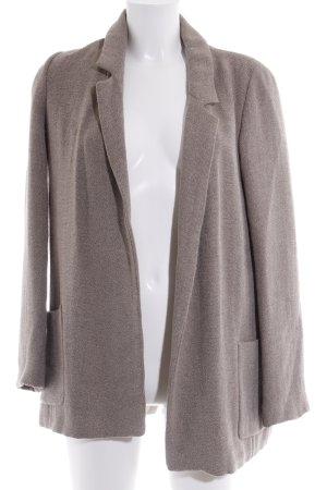 Zara Basic Kurzmantel beige Casual-Look