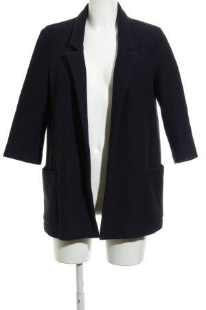 Zara Basic Kurzmantel dunkelblau Business-Look
