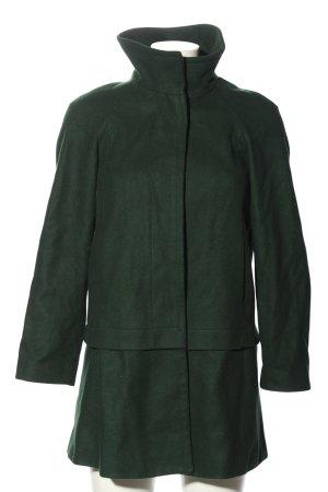 Zara Basic Short Coat green casual look