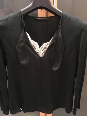 """ Zara Basic"" Lässige Viscose-Bluse"