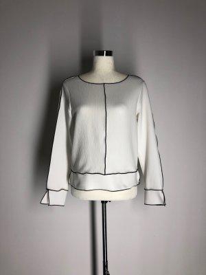 "Zara Basic Langarm-Bluse im ""Outline-Look"""