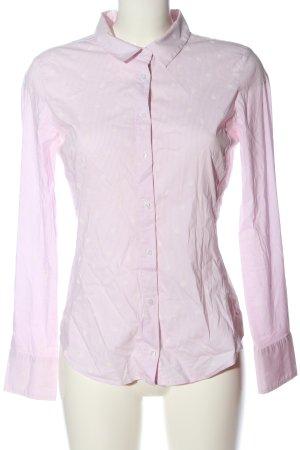 Zara Basic Langarmhemd pink Business-Look