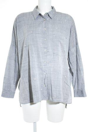 Zara Basic Langarmhemd grau Casual-Look