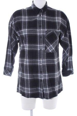 Zara Basic Camicia a maniche lunghe motivo a quadri stile casual