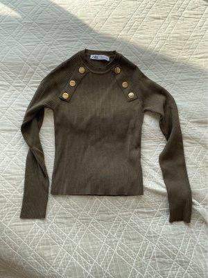 Zara Basic Langarmshirt