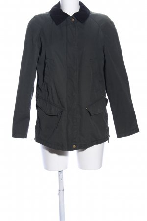 Zara Basic Chaqueta larga negro look casual