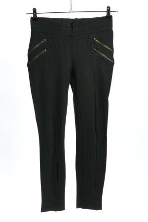 Zara Basic Leggings schwarz Business-Look