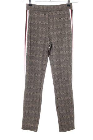 Zara Basic Leggings Karomuster Casual-Look
