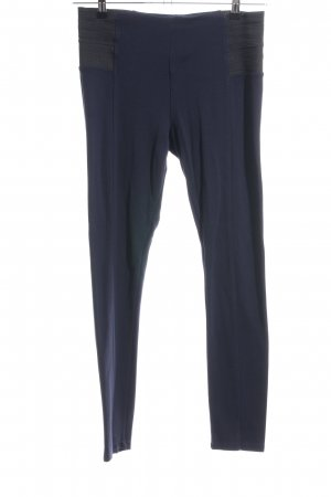 Zara Basic Leggings blau Casual-Look