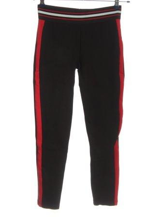 Zara Basic Leggings mehrfarbig Casual-Look