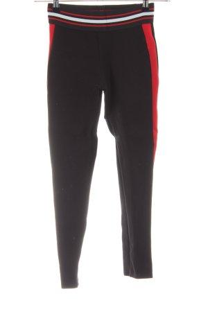 Zara Basic Leggings Streifenmuster Casual-Look