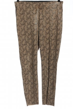 Zara Basic Leggings Allover-Druck extravaganter Stil
