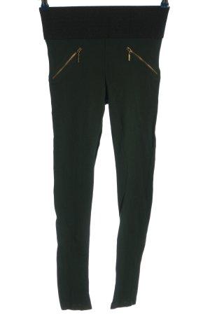 Zara Basic Leggings khaki Casual-Look