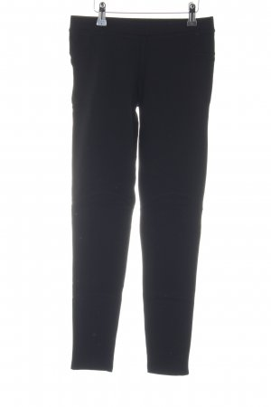 Zara Basic Leggings schwarz Business-Look