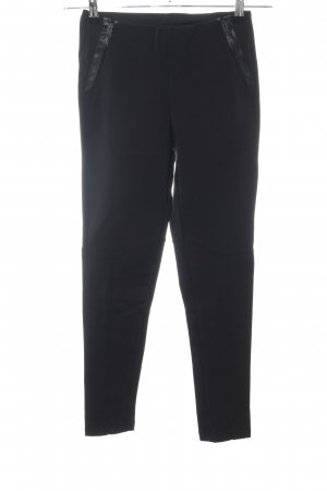 Zara Basic Leggings schwarz Casual-Look