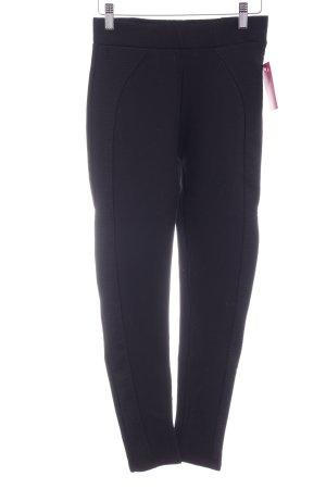 Zara Basic Leggings schwarz Casual-Look