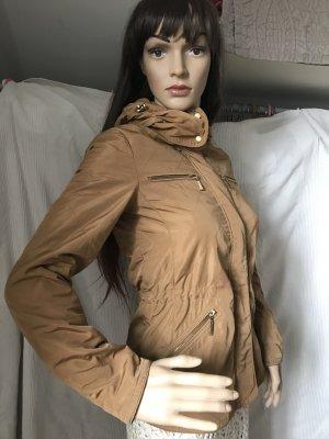 Zara Basic, leichte Jacke, goldbraun, KP 59,95€