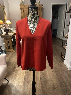 Zara basic line Bluse rot Größe M