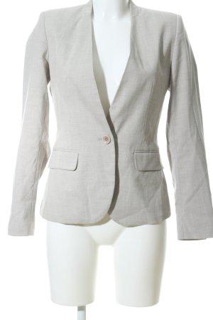 Zara Basic Long-Blazer hellgrau Webmuster Business-Look