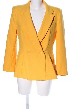Zara Basic Long Blazer primrose business style