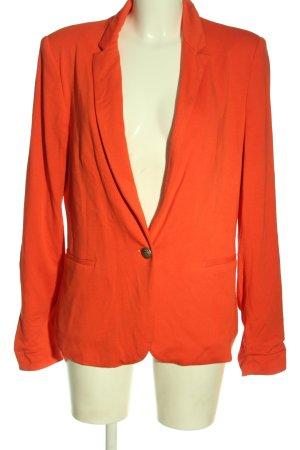 Zara Basic Long-Blazer hellorange Elegant