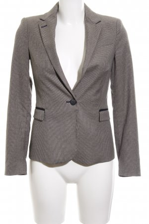 Zara Basic Long-Blazer mehrfarbig Business-Look