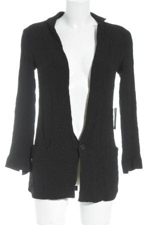 Zara Basic Long-Blazer schwarz schlichter Stil