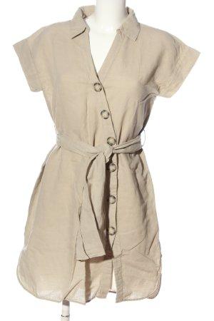 Zara Basic Blusa larga crema look casual