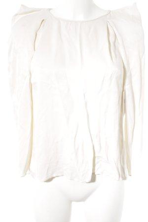 Zara Basic Longsleeve creme Casual-Look