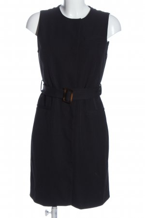 Zara Basic Long Knitted Vest blue casual look