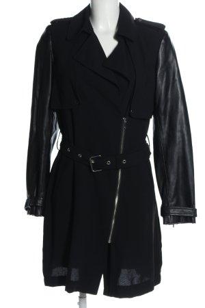 Zara Basic Abito cappotto nero stile casual