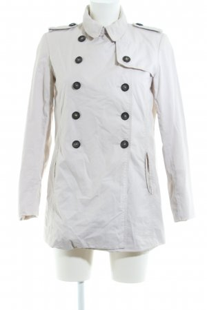 Zara Basic Naval Jacket white business style