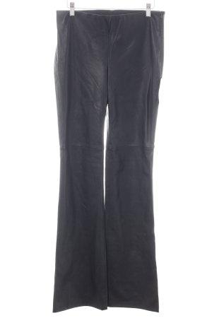 Zara Basic Marlenehose schwarz extravaganter Stil