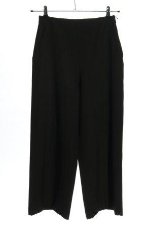 Zara Basic Pantalón anchos negro look casual