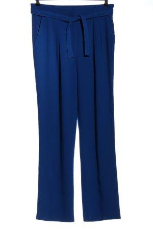 Zara Basic Marlenehose blau Business-Look