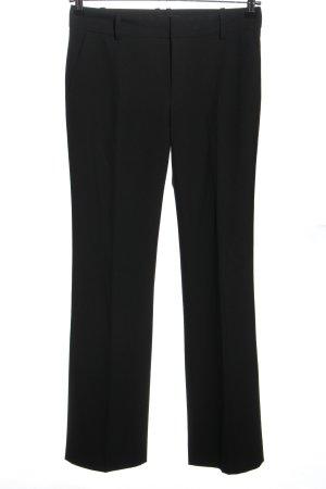 Zara Basic Marlene Trousers black casual look