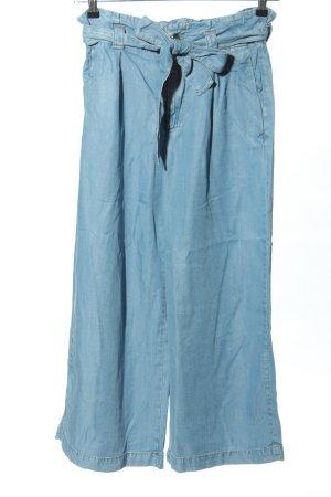 Zara Basic Marlene Denim blue casual look