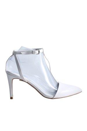 Zara Basic Décolleté Mary Jane bianco stile casual