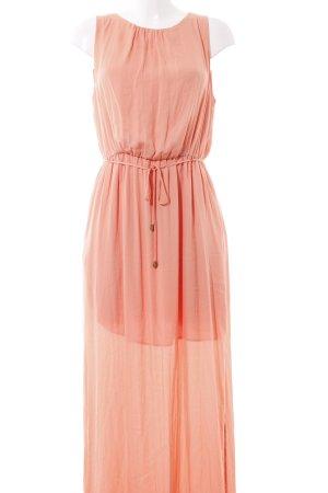 Zara Basic Maxi-jurk zalm