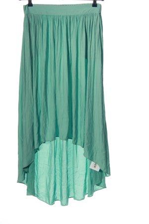 Zara Basic Maxi Skirt turquoise casual look