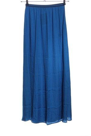 Zara Basic Spódnica maxi niebieski W stylu casual