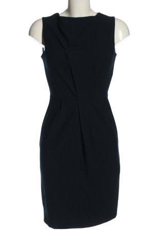 Zara Basic Midikleid blau Business-Look