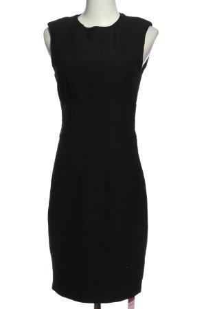 Zara Basic Midikleid schwarz Elegant