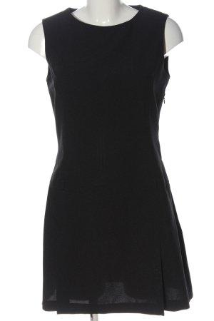 Zara Basic Etuikleid schwarz Casual-Look