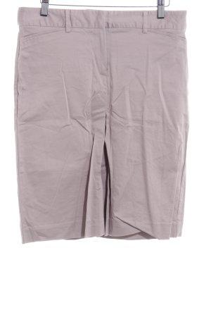 Zara Basic Spódnica midi bladofiołkowy Prosty styl