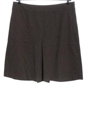 Zara Basic Spódnica midi Wzór w kratkę W stylu casual