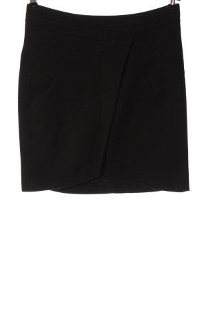 Zara Basic Spódnica midi czarny Elegancki