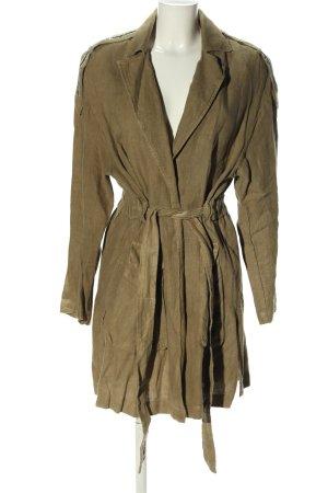 Zara Basic Giacca militare cachi stile casual
